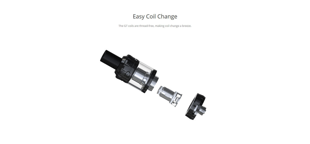 Eleaf GTiO Tank 1.8ml 20mm Easy Coil Change