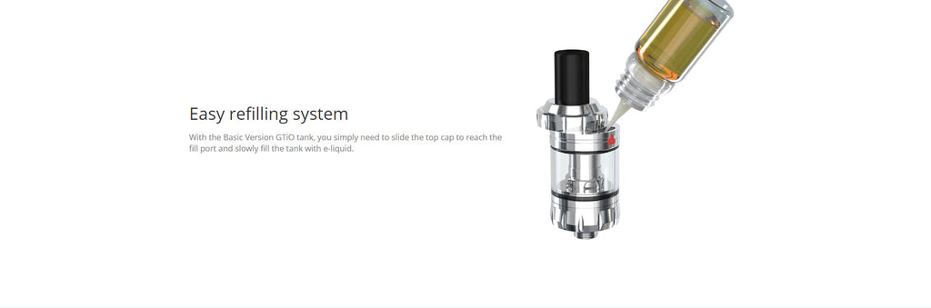 Eleaf GTiO Tank 1.8ml 20mm Refilling System