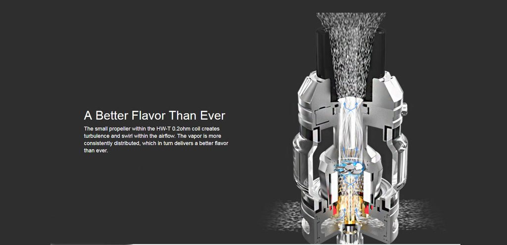 Eleaf ROTOR Tank Better Flavor