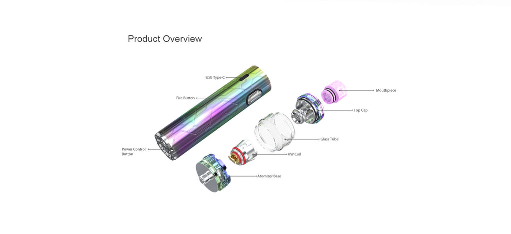 Eleaf iJust 3 Pro Vape Pen VW Starter Kit with Ello Duro Tank 3000mAh Overview
