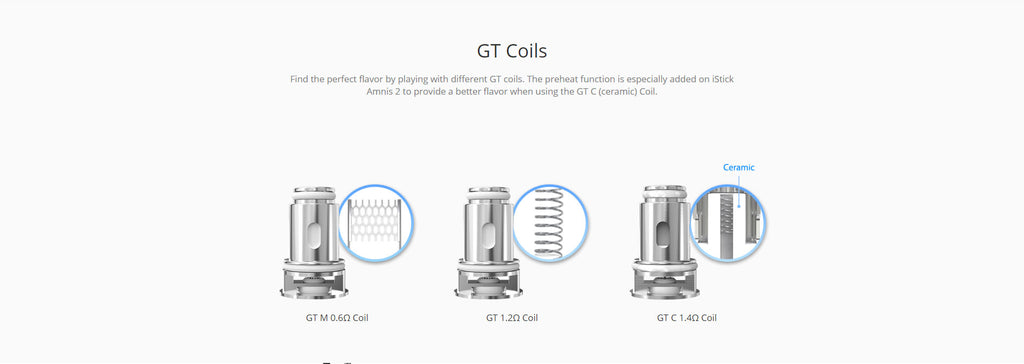 Eleaf GTiO Tank 3ml 3 GT Coils Optional