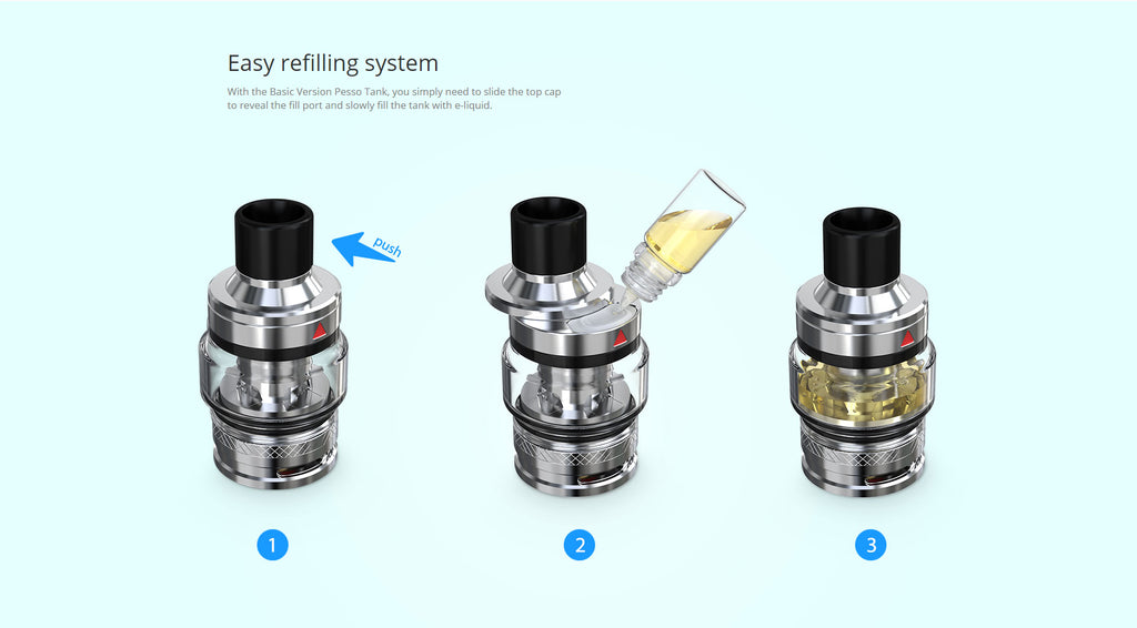 Eleaf iStick T80 VW Mod Kit with Pesso Tank 80W 3000mAh 5ml Childproof Edition Refilling System