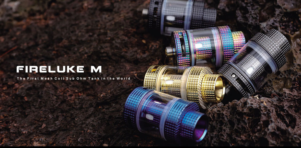 FreeMax Fireluke Mesh Sub Ohm Tank 3ML M-Metal Edition