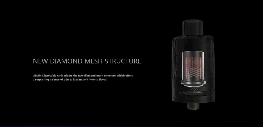 Freemax GEMM Vape Pen Kit Mesh Structure