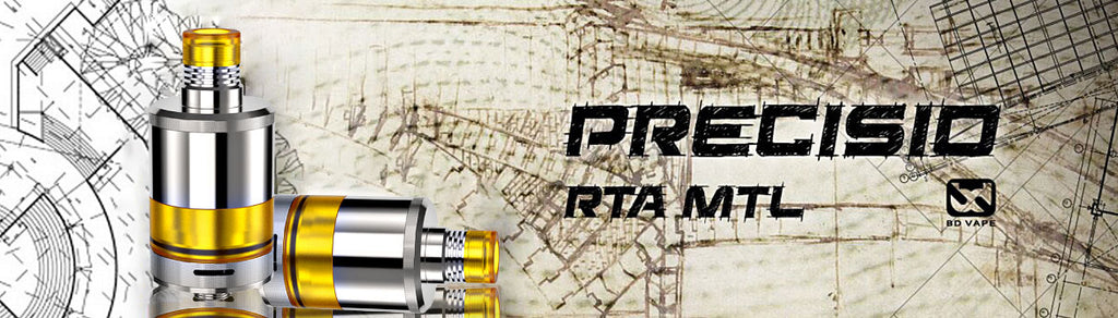 Fumytech Precisio MTL Pure RTA 2.7ml 22mm