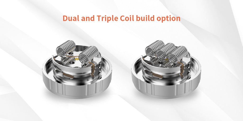 G-TASTE Aries RTA 10ml 30mm Coil Building