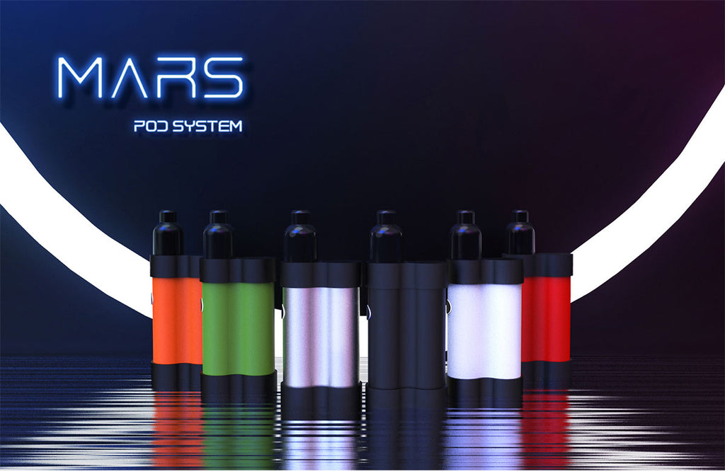 Gas Mods MARS Pod System VW Starter Kit 750mAh 2ml