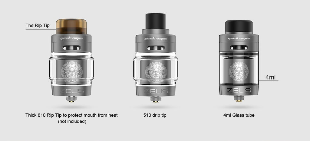 GeekVape Zeus Dual RTA Specifications