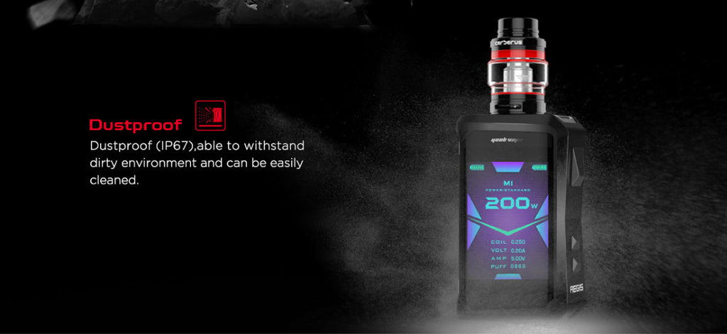 Geekvape Aegis X TC Mod Kit USB Charging & Firmware Upgrade