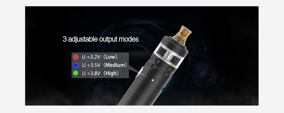 Geekvape Flint Vape Pen Kit 3 Output Modes