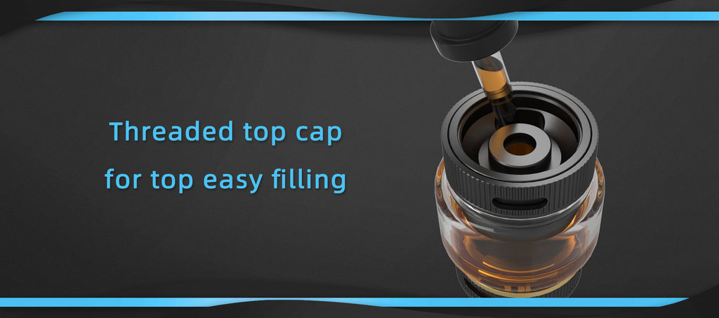 Threaded Top Cap For Top Easy Filling