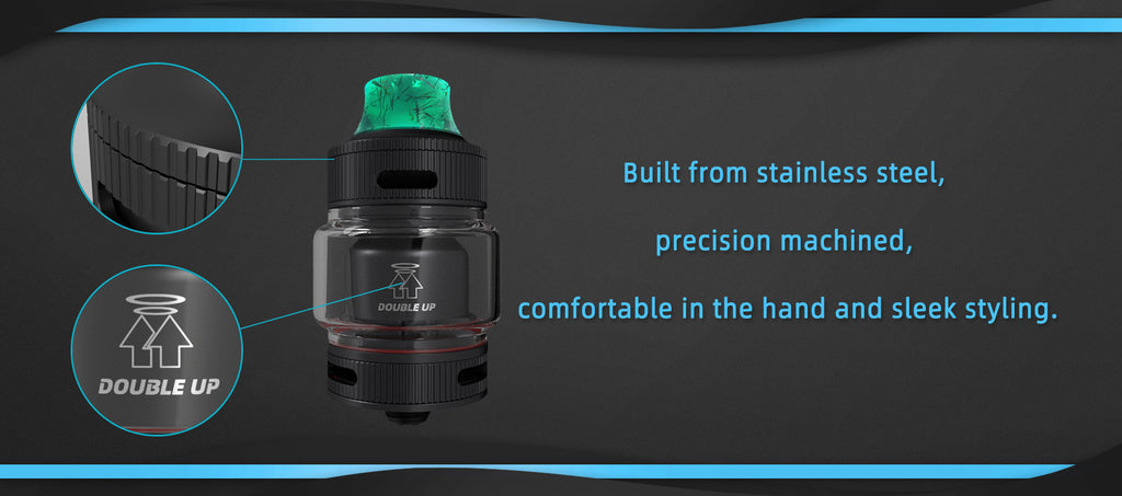 Gofovape Double Up 23mm RTA Material