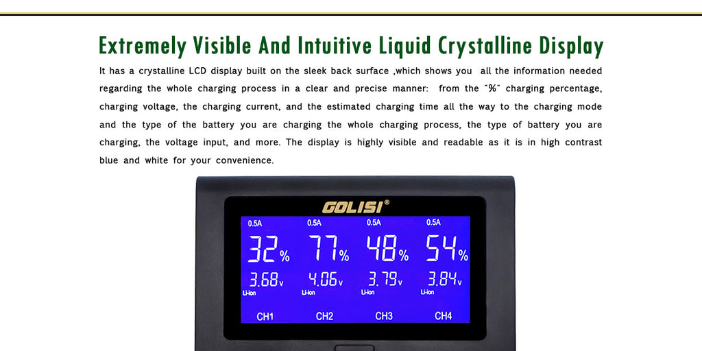Extremely Visible And Intuitivuwikc Crystalline Display