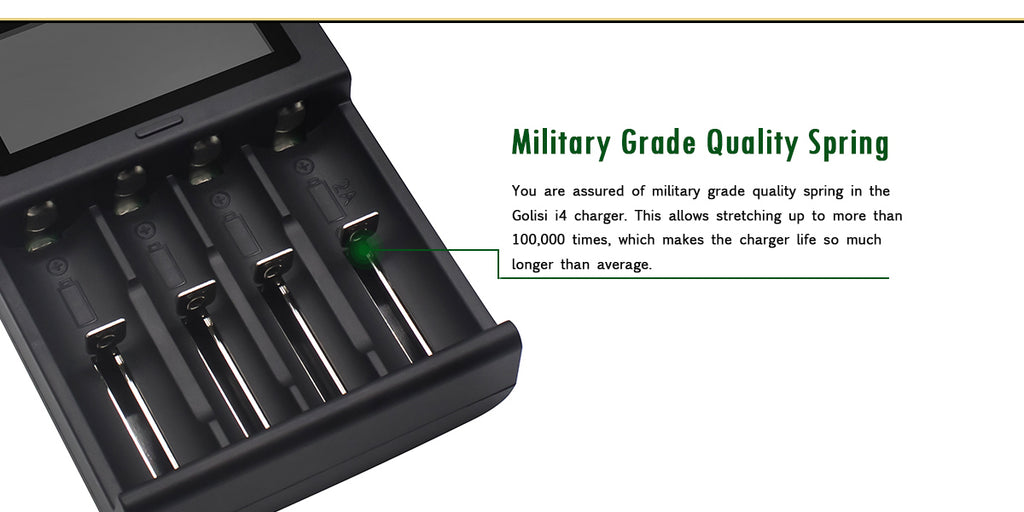 Military Grade Qulity Spring