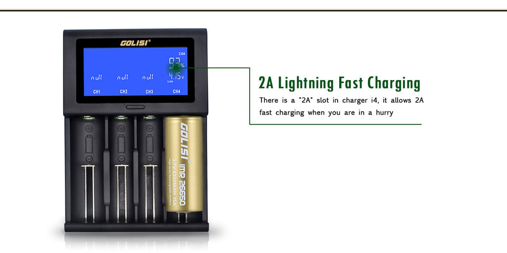 2A Lightning Fast Charging