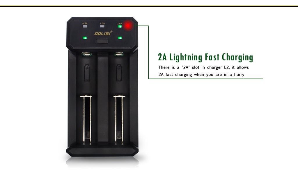 Golisi L2 Smart USB Charger 2A Lightning Fast Charaing