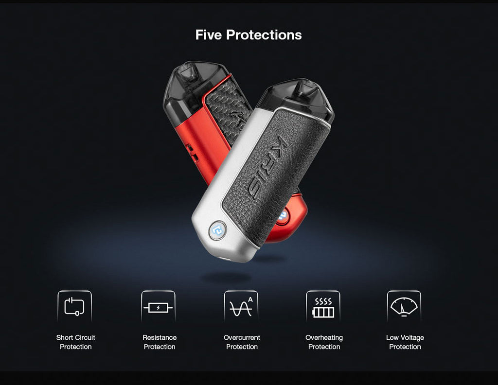 HCIGAR KRIS Pod System Starter Kit 650mAh 2ml Five Protections