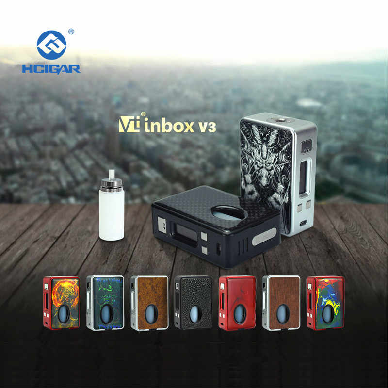 HCIGAR VT INBOX V3 Squonk Mod 75W 7ml 9 Colors Available