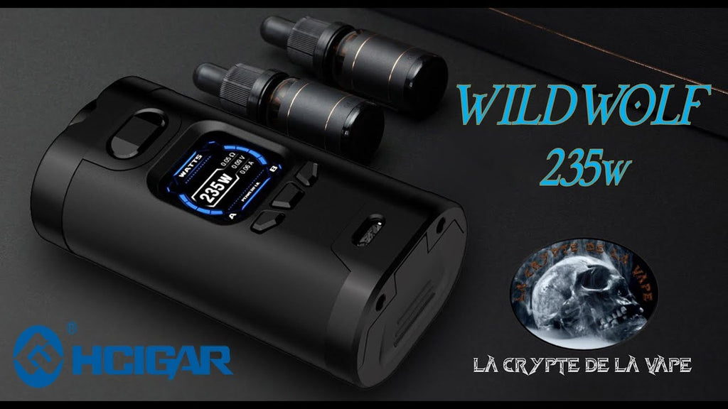 HCIGAR Wildwolf TC Box Mod 235W