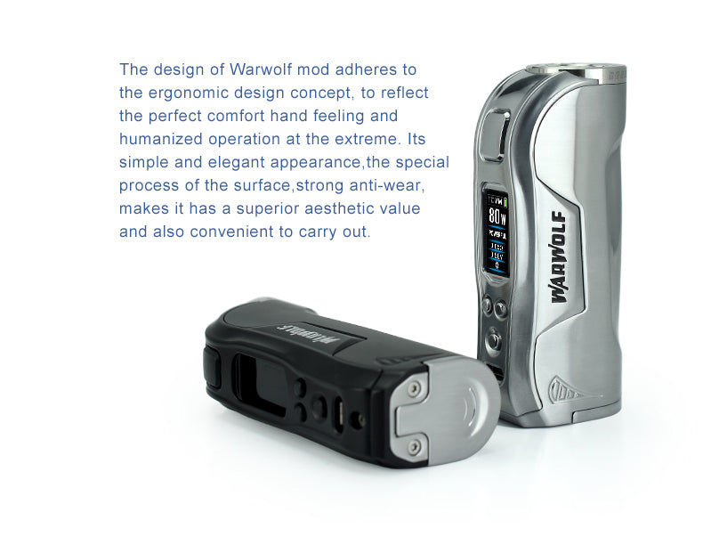 HCIGAR Warwolf TC Box Mod 80W Description