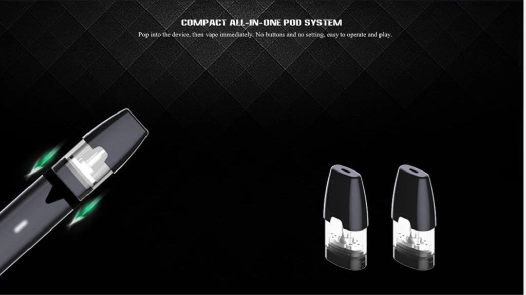 HQD KIM Compact All-in-one Vape Pod System