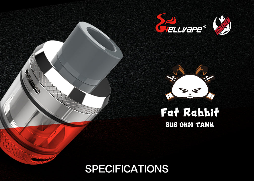 Hellvape Fat Rabbit Sub Ohm Tank 5ml 28mm