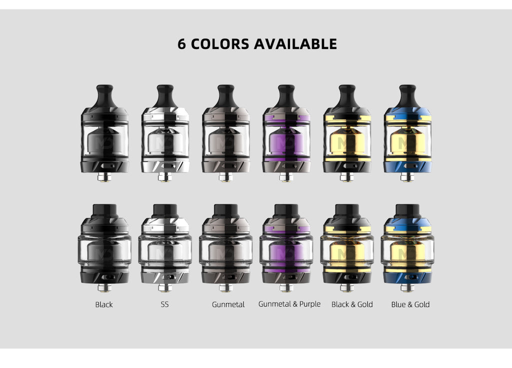 Hellvape MD RTA 4ml 27mm 6 Colors Available