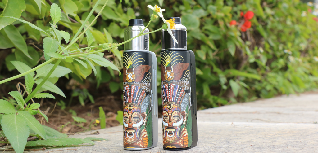 Hippovape Papua VV Box Mod Kit 100W Real Shots