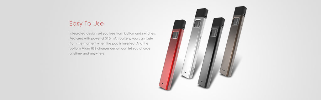 IBUDDY Bpod Vape Pod System 310mAh 1ml Aluminium Introductions