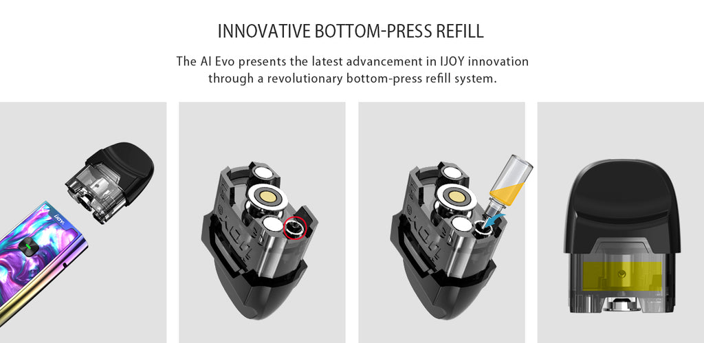 IJOY AI EVO Replacement Pod Cartridge 2.8ml Filling System