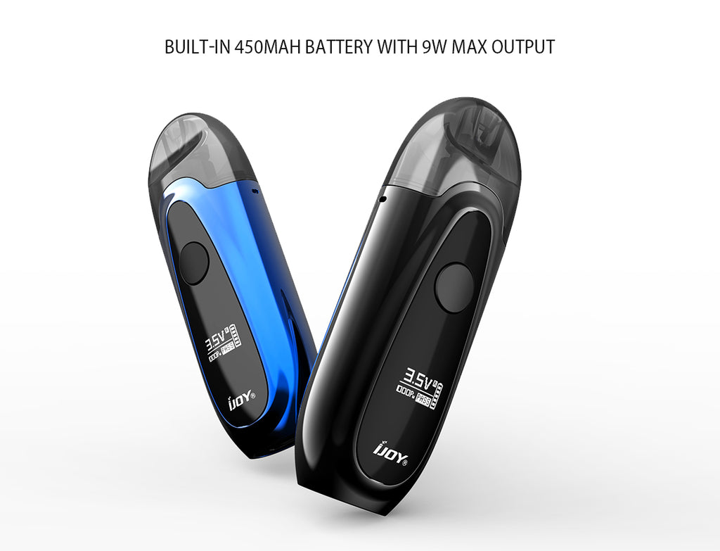 IJOY IVPC Pod System Starter Kit 450mAh Battery With 9W Max Output