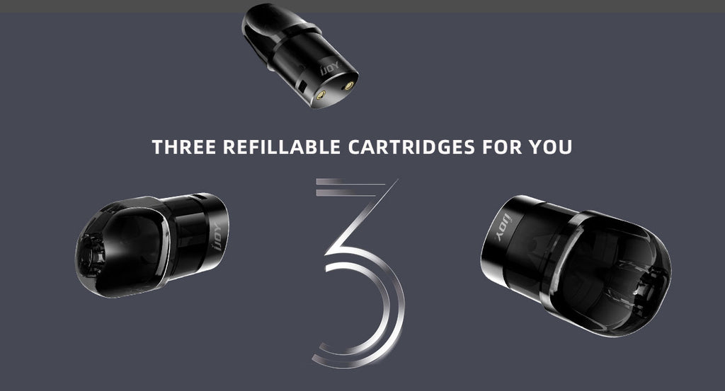 3 Refillable Cartridges