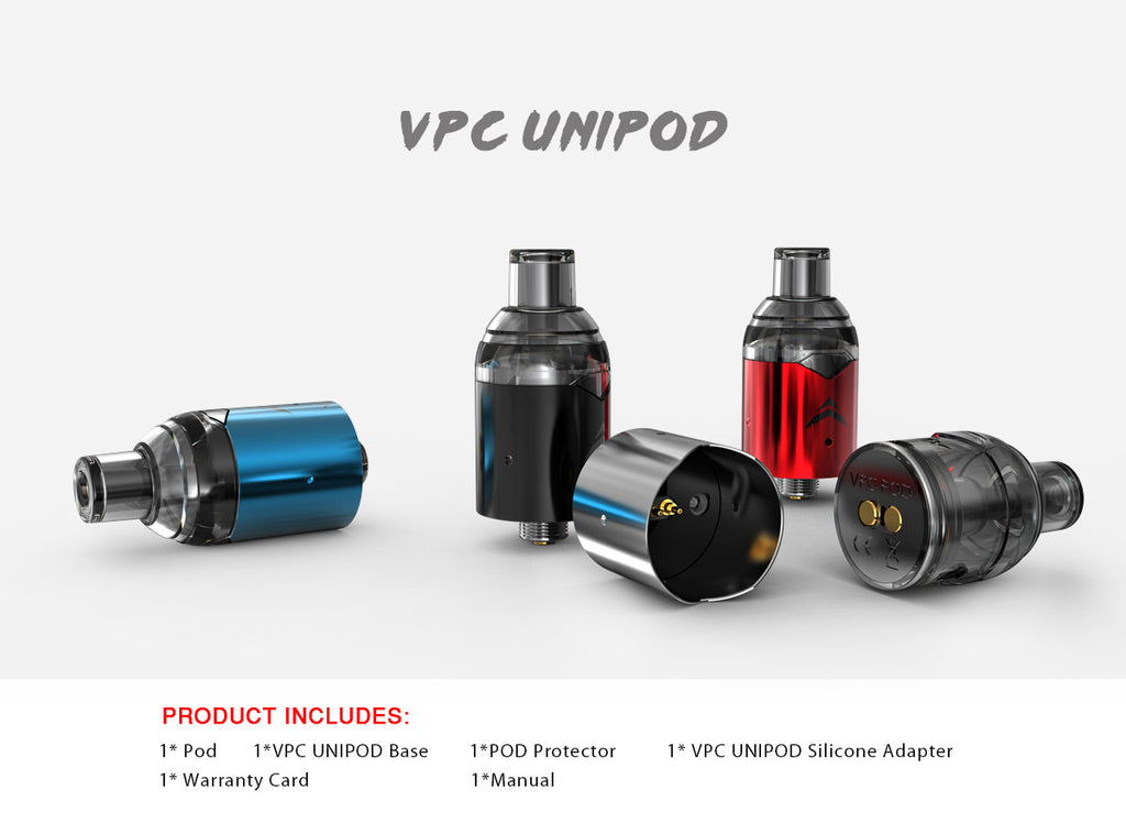 IJOY VPC Replacement Pod Cartridge 2ml Product Includes