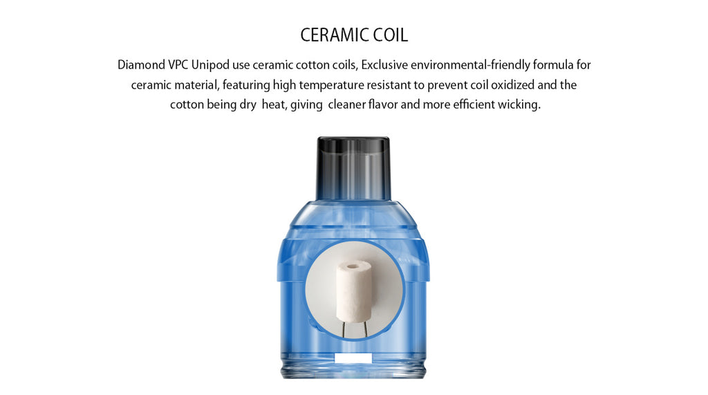 IJOY VPC Replacement Pod Cartridge 2ml Ceramic Coil