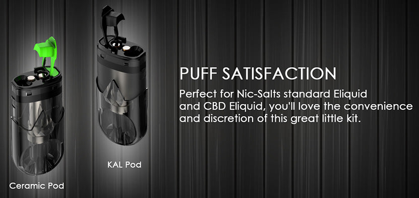 Innokin I.O Vape Pod Cartridge Puff Satisfaction