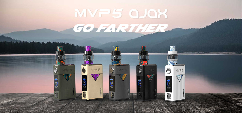 Innokin MVP5 VW Mod Kit with Ajax Tank 120W 5200mAh 5ml 5 Colors Available