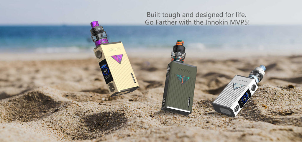 Innokin MVP5 VW Mod Kit with Ajax Tank 120W 5200mAh 5ml Real Shots