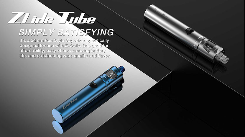 Innokin Zlide Tube Vape Pen Starter Kit 3000mAh 4ml Simply Satisfying