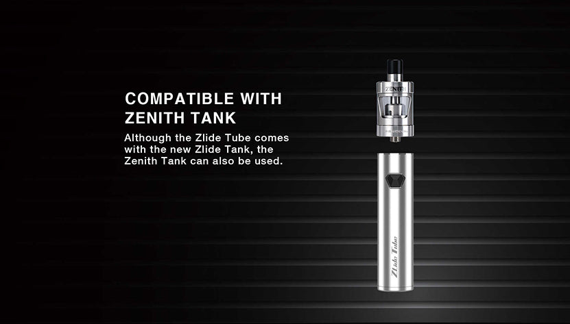 Innokin Zlide Tube Vape Pen Starter Kit 3000mAh 4ml Compatible With Zenith Tank