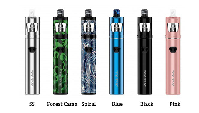 Innokin Zlide Tube Vape Pen Starter Kit 3000mAh 4ml 6 Colors Available