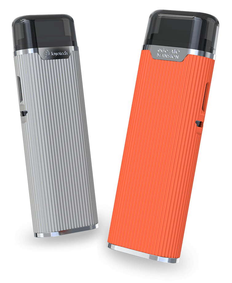 Joyetech eGo AIO Mansion Pod System Kit Orange & Silver