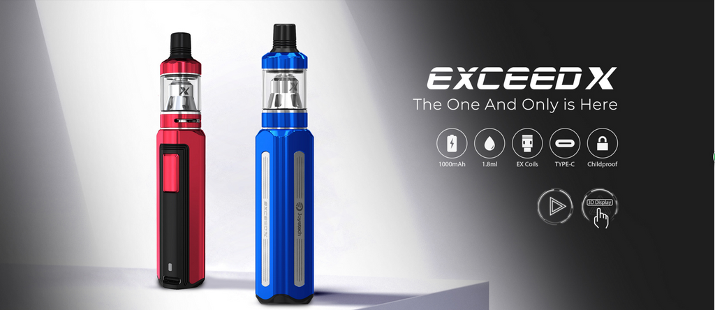 Joyetech Exceed X VW Mod Kit 1000mAh 1.8ml