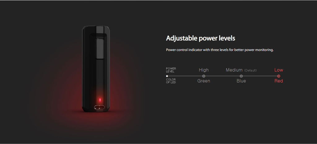 Joyetech Exceed X VW Mod Kit 1000mAh 1.8ml Adjustable Power Levels