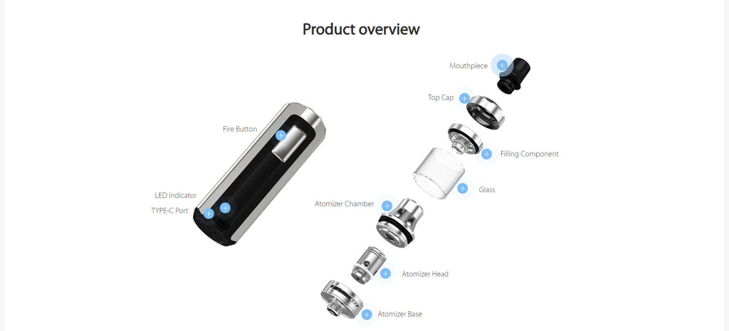 Joyetech Exceed X VW Mod Kit 1000mAh 1.8ml Overview