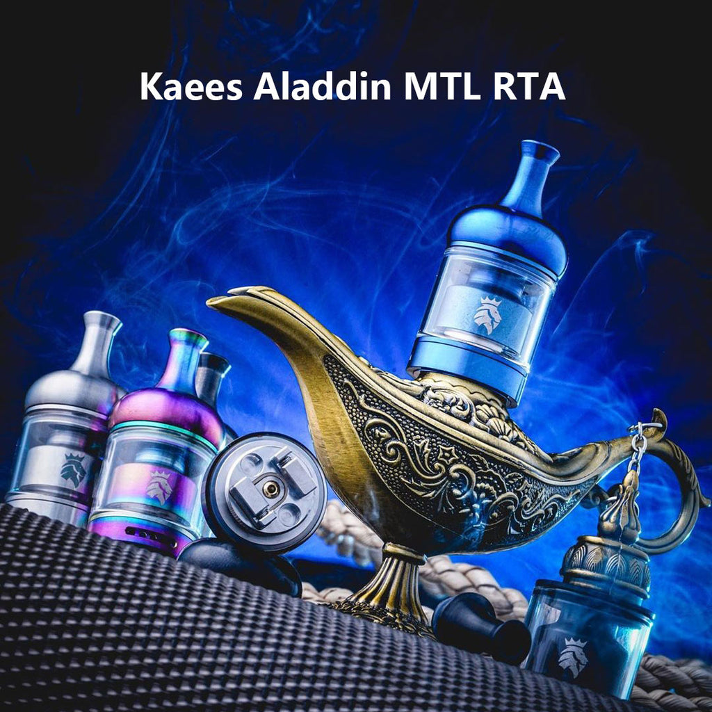 Kaees Aladdin MTL RTA 4ml 22mm