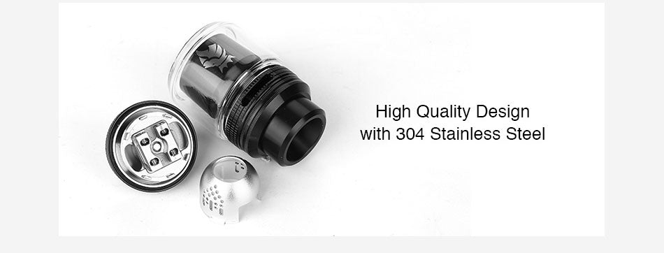 Kaees Solomon 3 RTA 5.5ml 25mm High Quality Design with 304 Stainless Steel