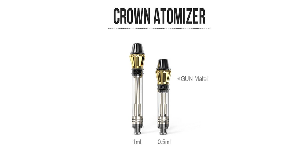 Kangvape K3 Crown Atomizer 0.5ml / 1.0ml 1.2ohm