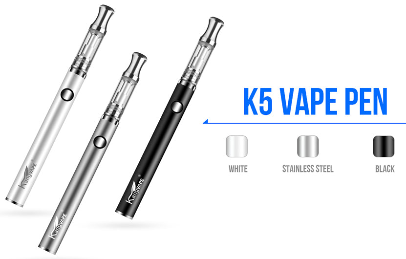 Kangvape K5 Vape Pen VV Starter Kit 350mAh 0.5ml 3 Colors Available