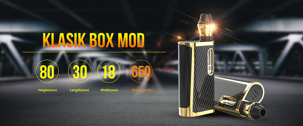 Kangvape Klasik VV Box Mod Kit with K3 Atomizer 650mAh 0.5ml