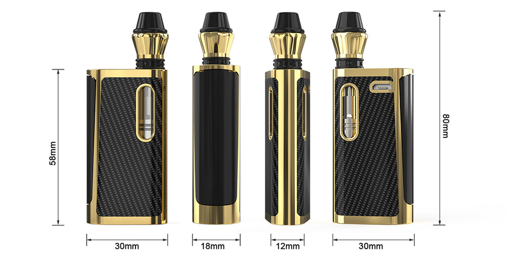Kangvape Klasik VV Box Mod Kit Size with K3 Atomizer 650mAh 0.5ml